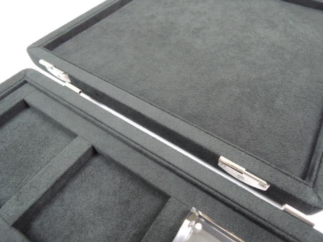 ルースケース収納ボックス(アクリルケース9個付き)