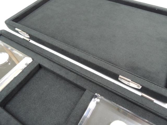 ルースケース収納ボックス(アクリルケース6個付き)